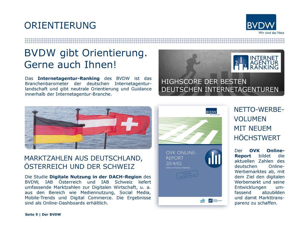 BVDW gibt Orientierung. Gerne auch Ihnen!