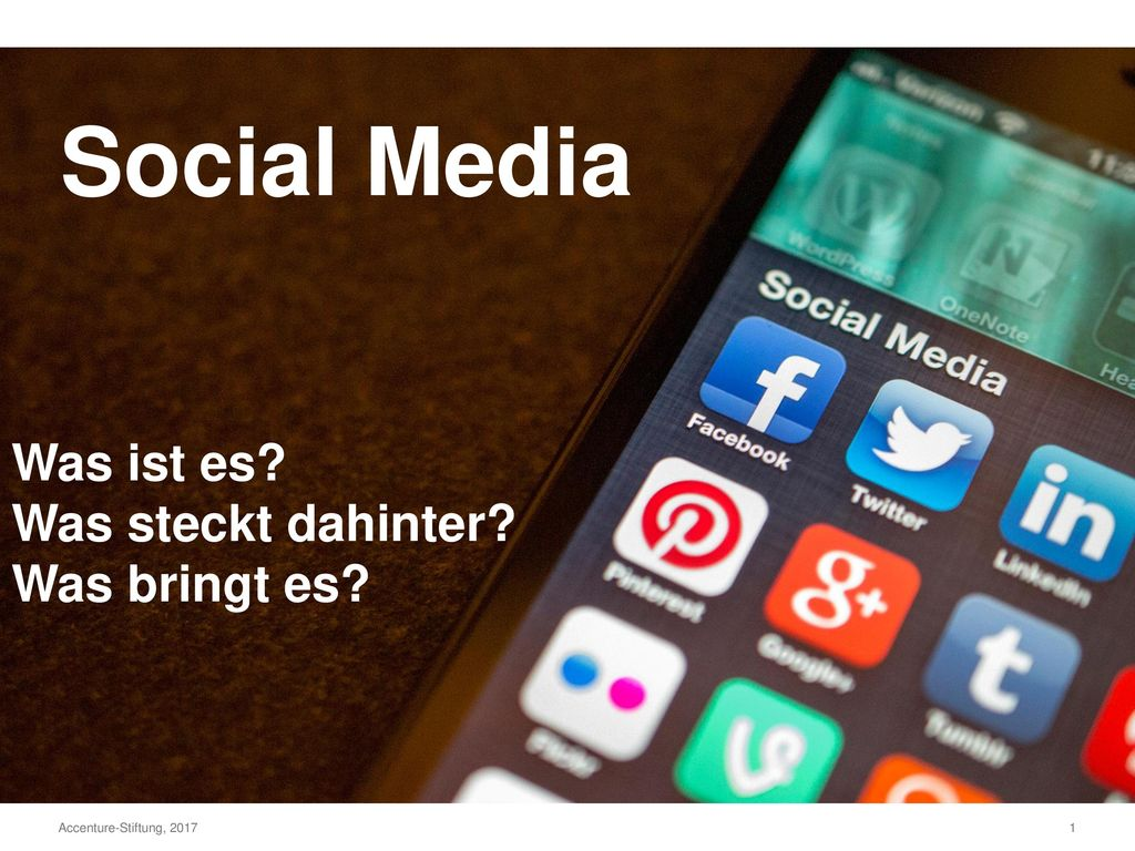 Social Media Was ist es Was steckt dahinter Was bringt es