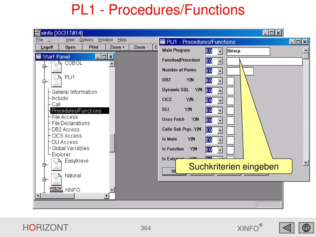 PL1 - Procedures/Functions