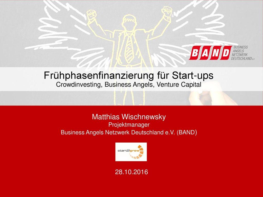 Frühphasenfinanzierung für Start-ups