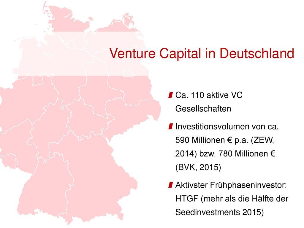 Venture Capital in Deutschland