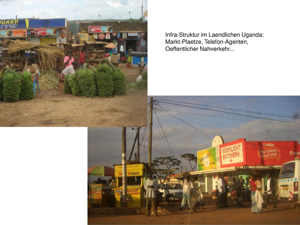 Infra-Struktur im Laendlichen Uganda: