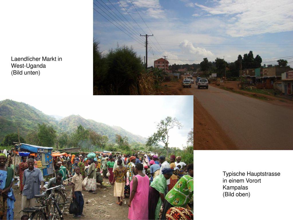 Laendlicher Markt in West-Uganda