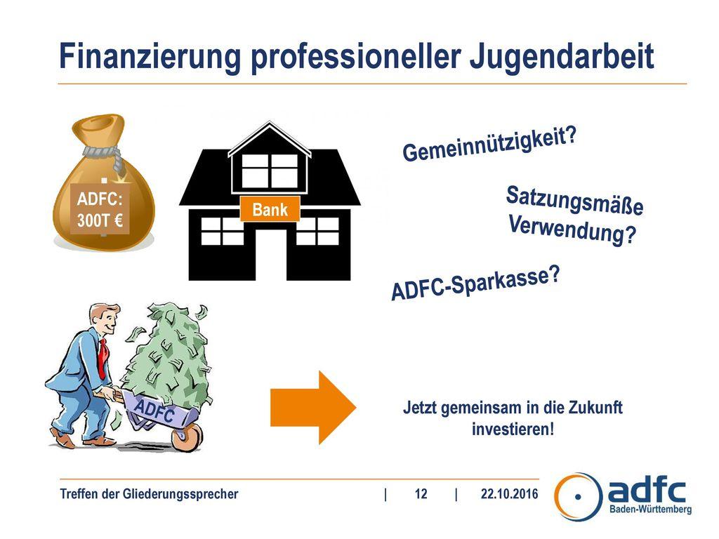 Finanzierung professioneller Jugendarbeit