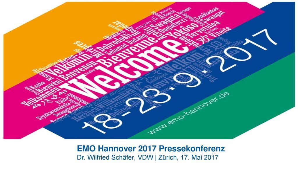 EMO Hannover 2017 Pressekonferenz Dr