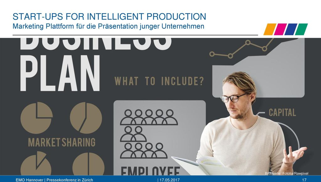START-UPS FOR INTELLIGENT PRODUCTION