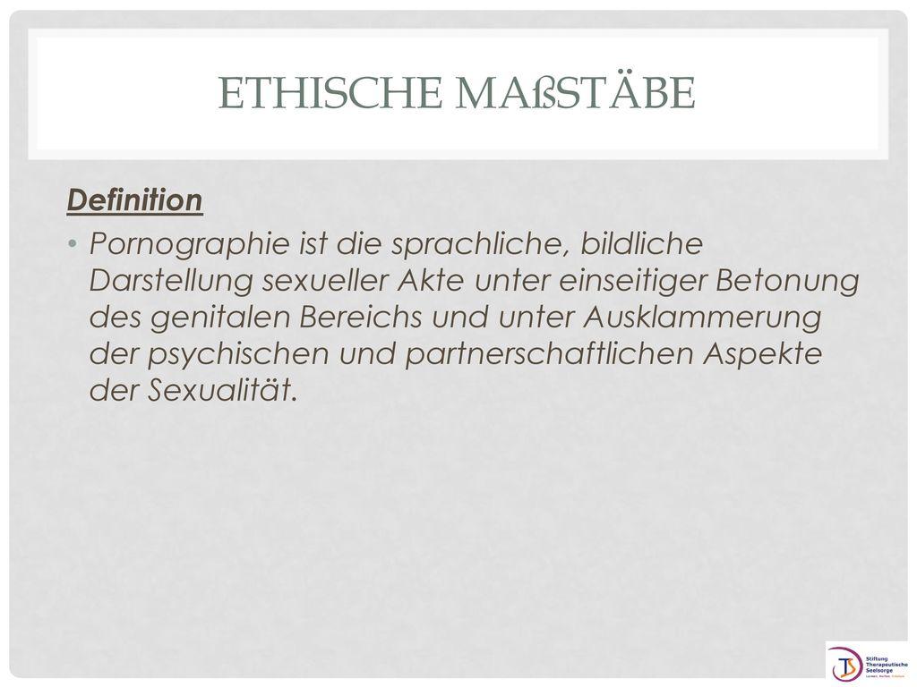 Ethische Maßstäbe Definition