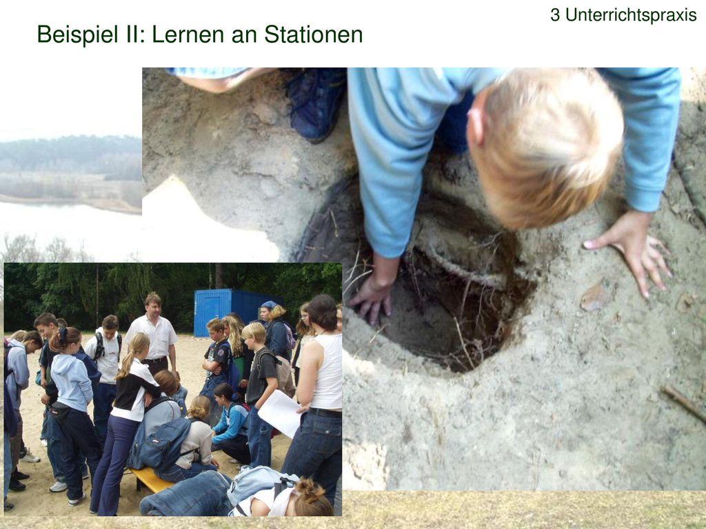 Beispiel II: Lernen an Stationen