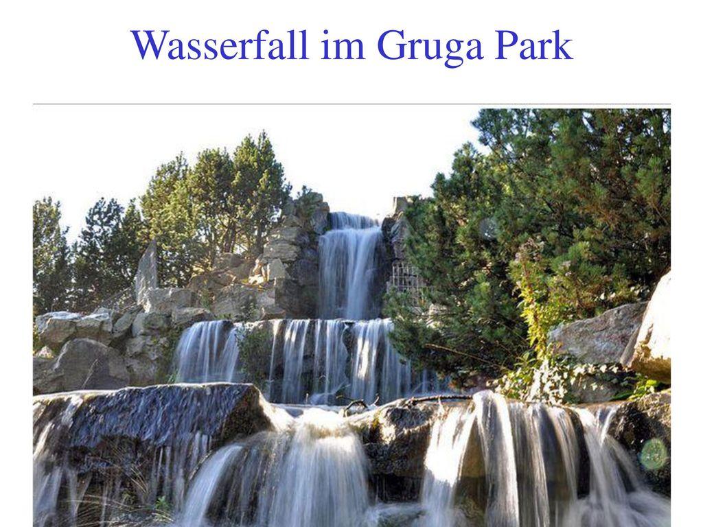 Wasserfall im Gruga Park