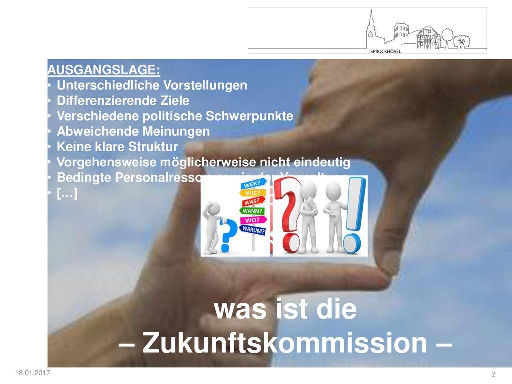 – Zukunftskommission –