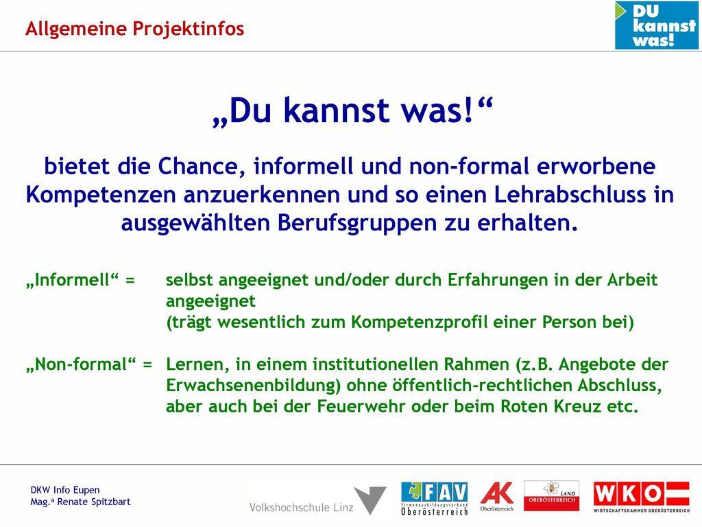 Allgemeine Projektinfos