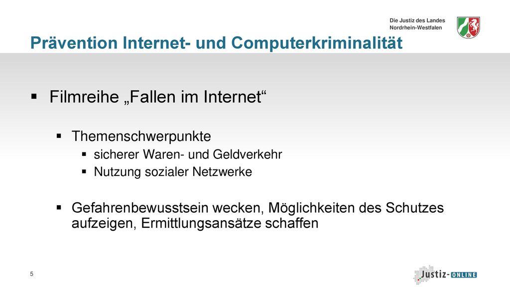 Prävention Internet- und Computerkriminalität