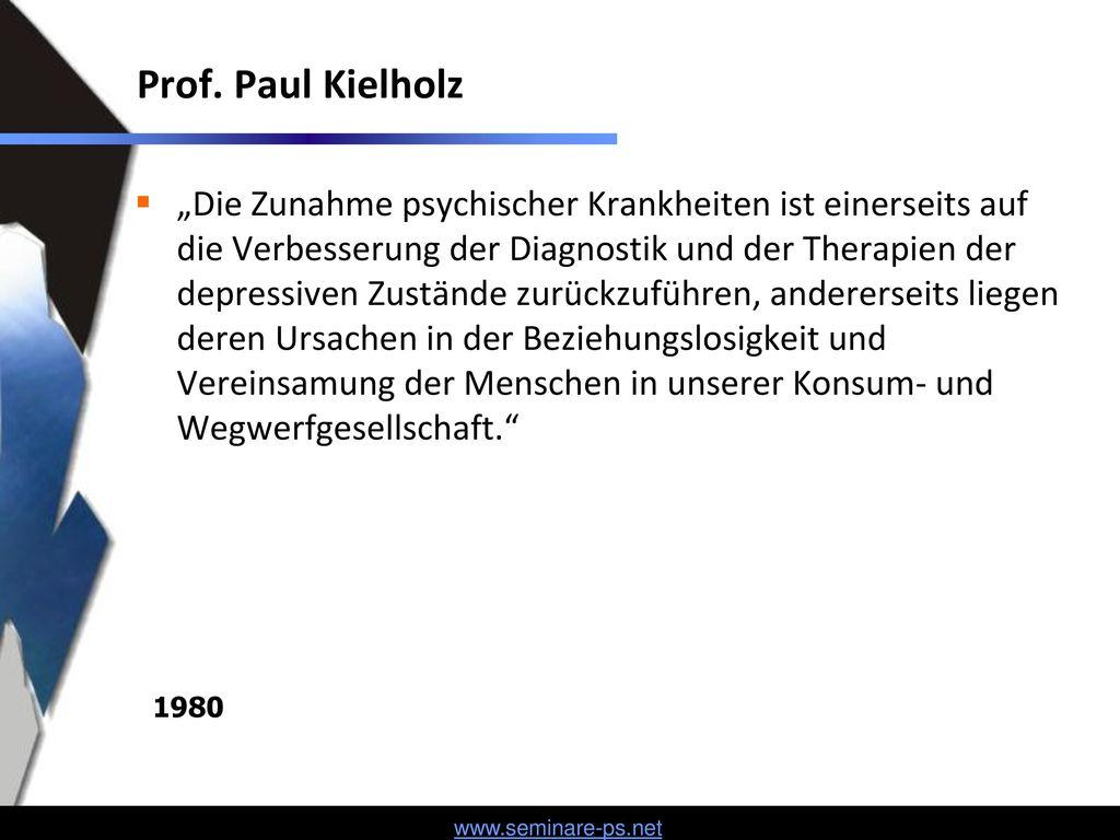 Prof. Paul Kielholz