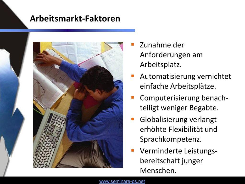 Arbeitsmarkt-Faktoren