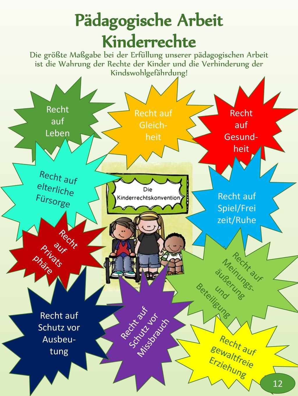 Pädagogische Arbeit Kinderrechte