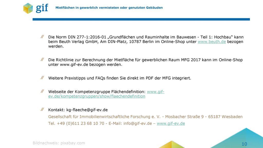 Kontakt: kg-flaeche@gif-ev.de