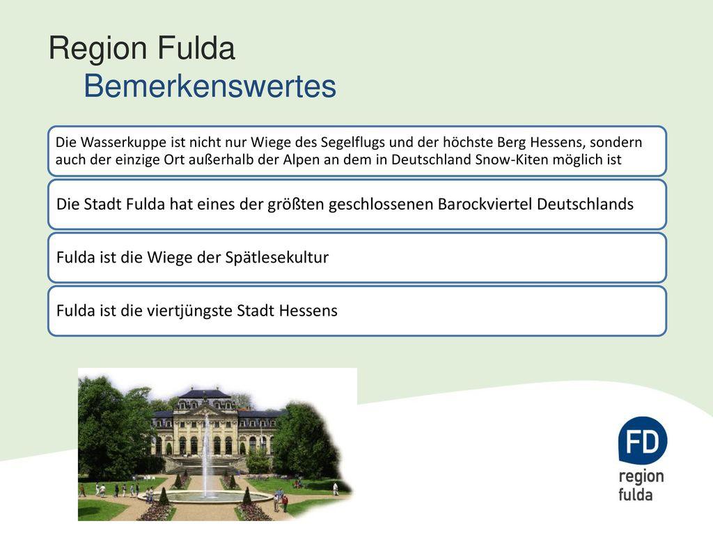 Region Fulda Bemerkenswertes