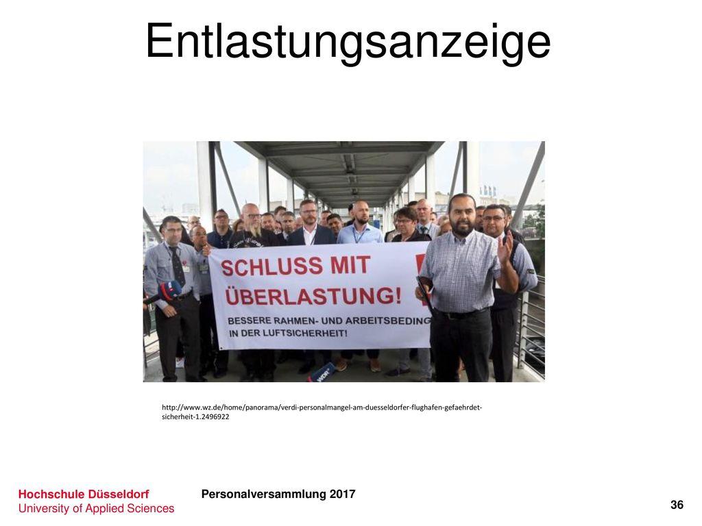 Entlastungsanzeige Personalversammlung 2017