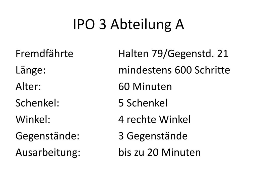 IPO 3 Abteilung A