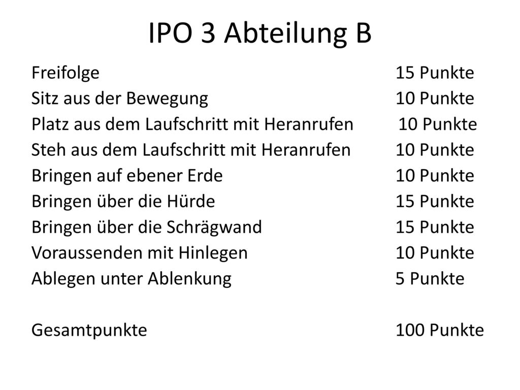 IPO 3 Abteilung B
