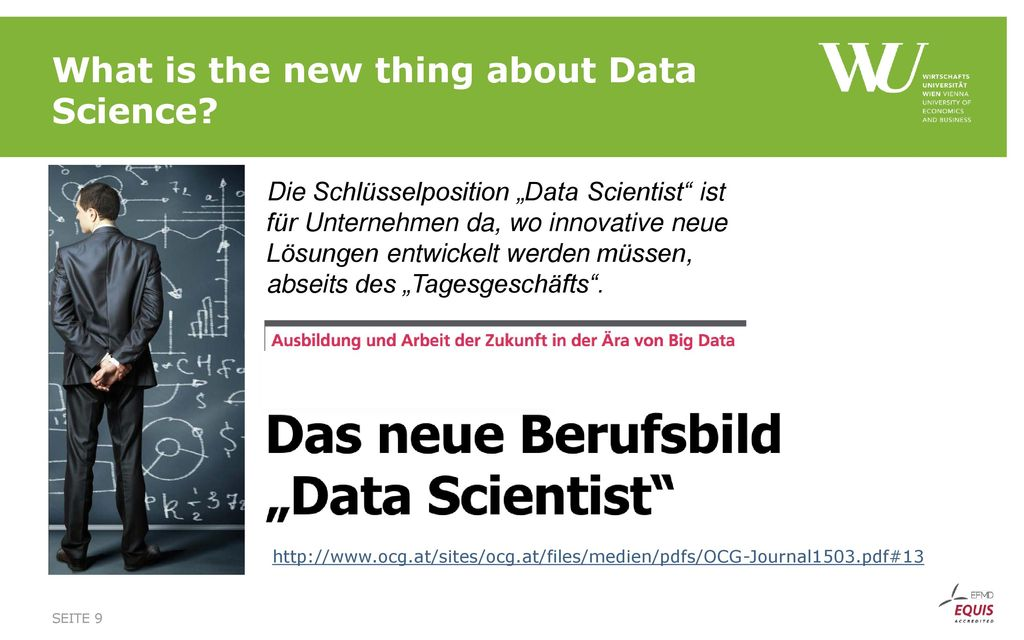 What is the new thing about Data Science