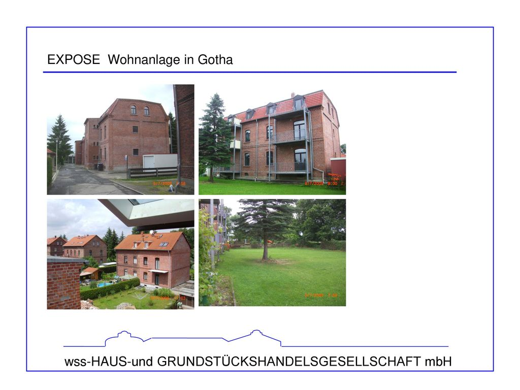 EXPOSE Wohnanlage in Gotha