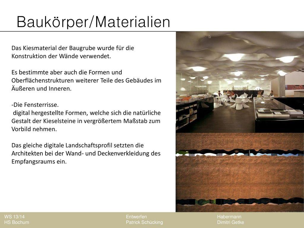 Baukörper/Materialien