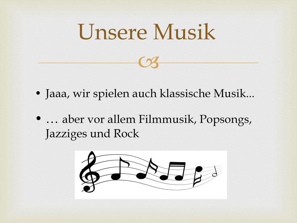 Notenfindung Zum größeren Teil die Orchestermitarbeit