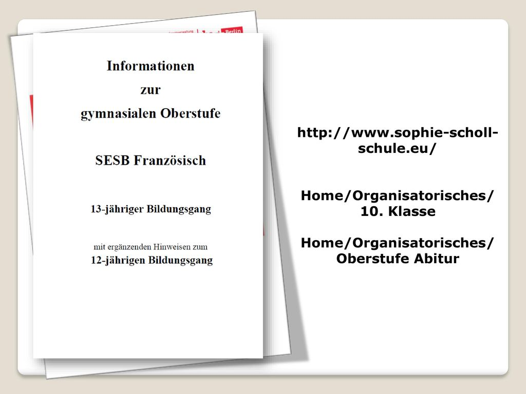 Home/Organisatorisches/ 10. Klasse