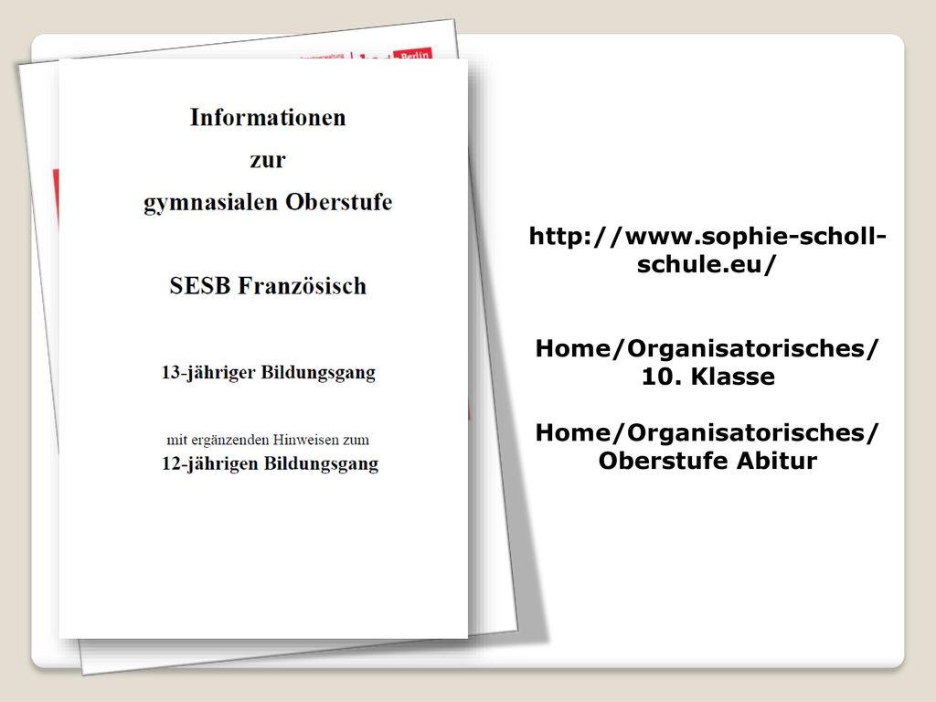 Home/Organisatorisches/ 10. Klasse