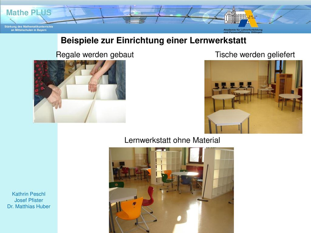 Beispiele zur Einrichtung einer Lernwerkstatt