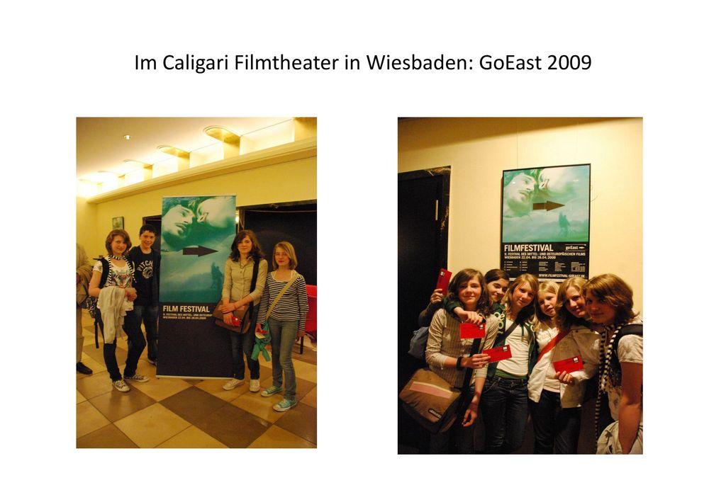 Im Caligari Filmtheater in Wiesbaden: GoEast 2009