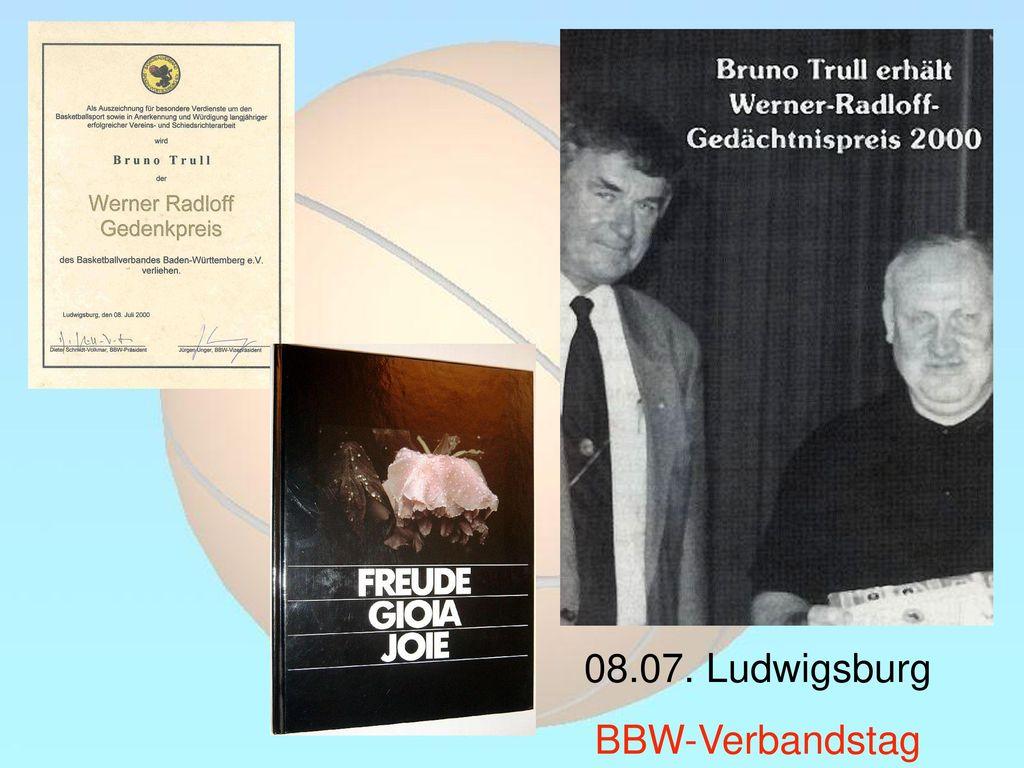 08.07. Ludwigsburg BBW-Verbandstag