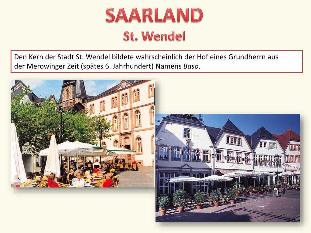 SAARLAND St. Wendel