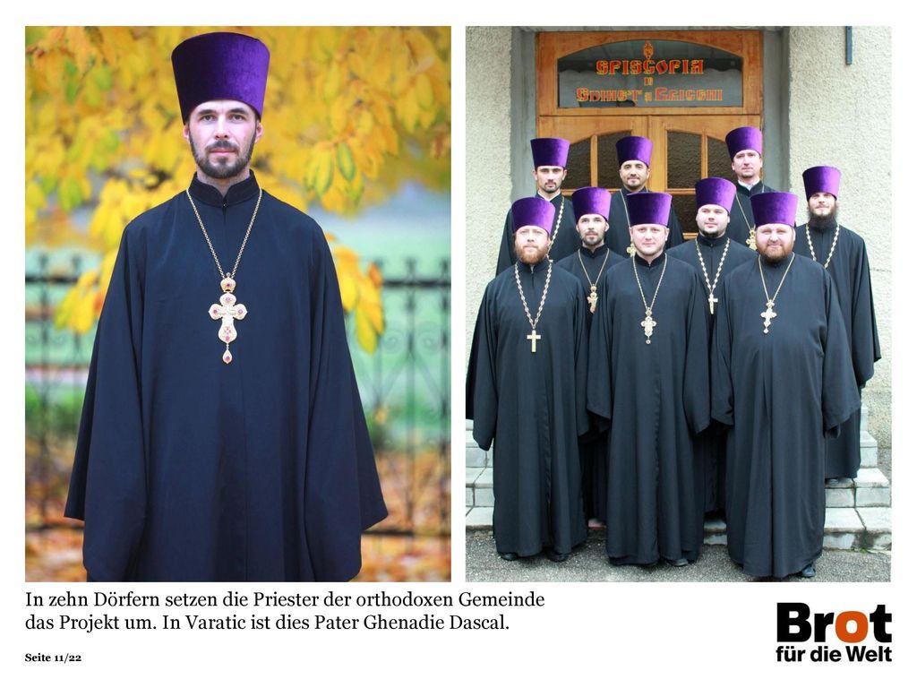 In zehn Dörfern setzen die Priester der orthodoxen Gemeinde das Projekt um.