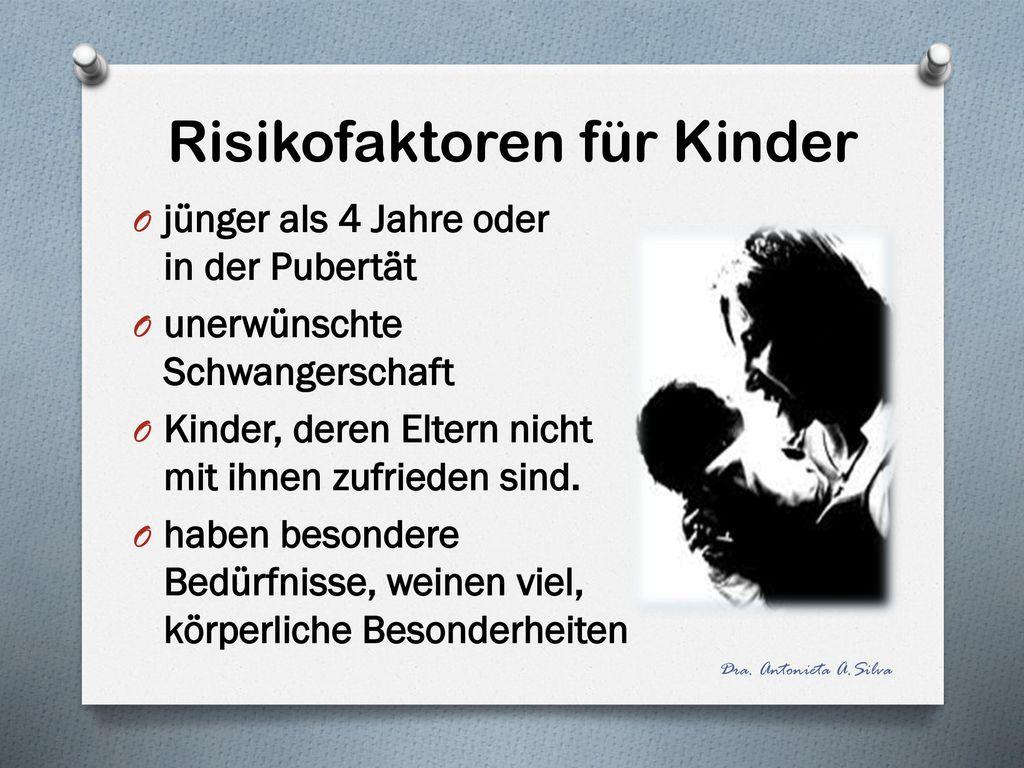 Risikofaktoren für Kinder