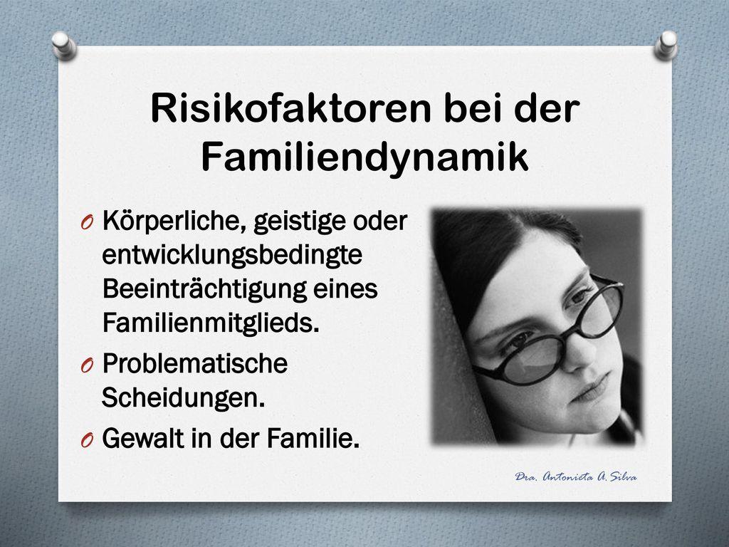 Risikofaktoren bei der Familiendynamik