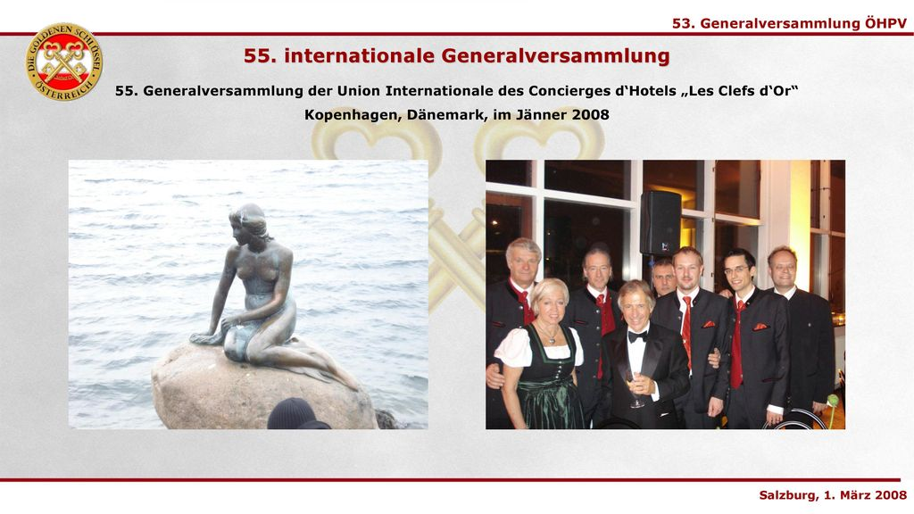 55. internationale Generalversammlung