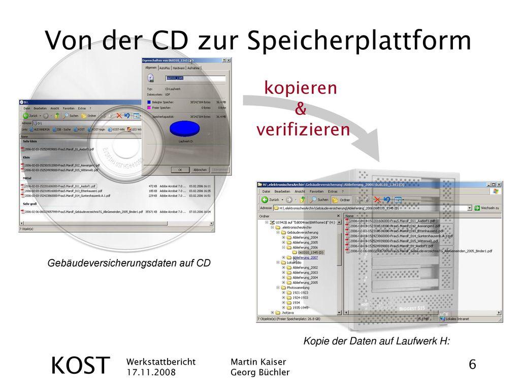 Von der CD zur Speicherplattform