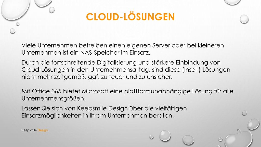 Cloud-Lösungen