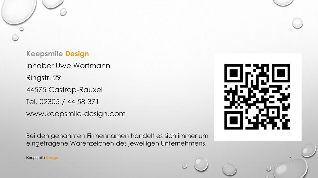 Keepsmile Design Inhaber Uwe Wortmann Ringstr Castrop-Rauxel
