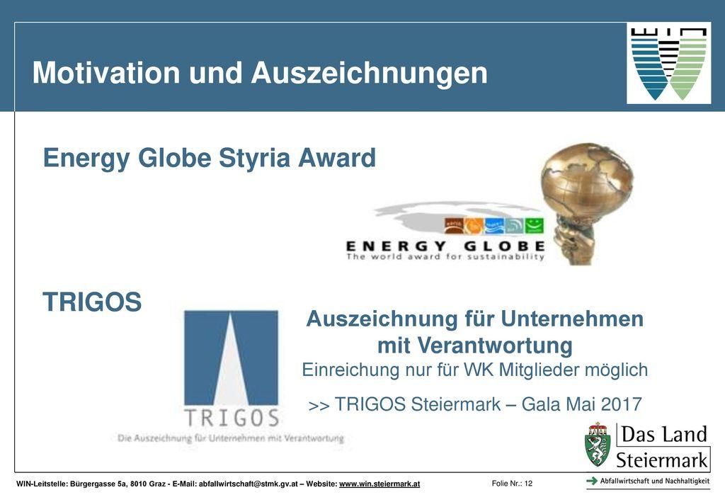 Auszeichnung für Unternehmen