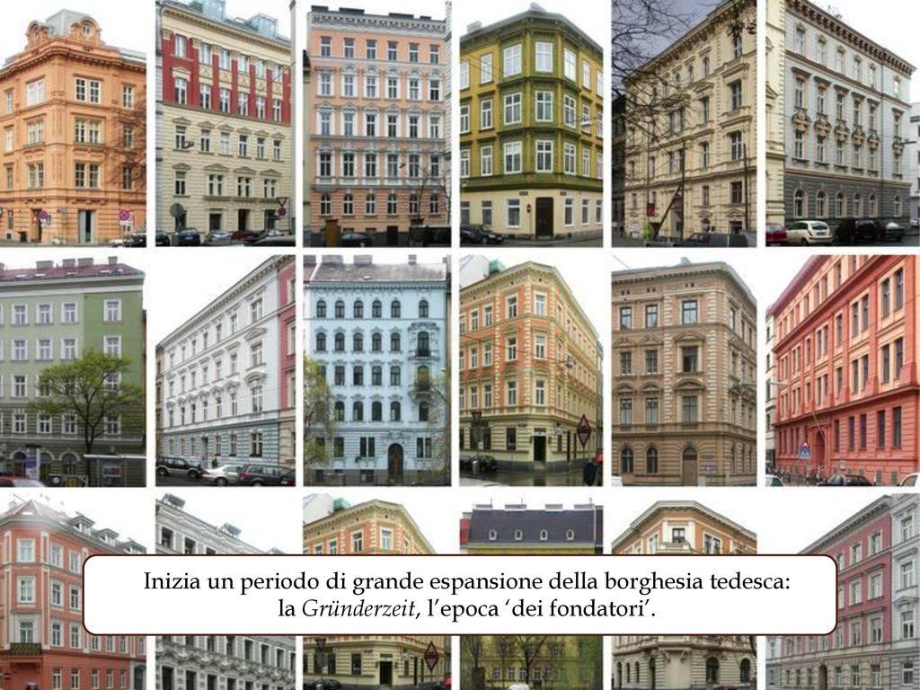 Inizia un periodo di grande espansione della borghesia tedesca: la Gründerzeit, l'epoca 'dei fondatori'.
