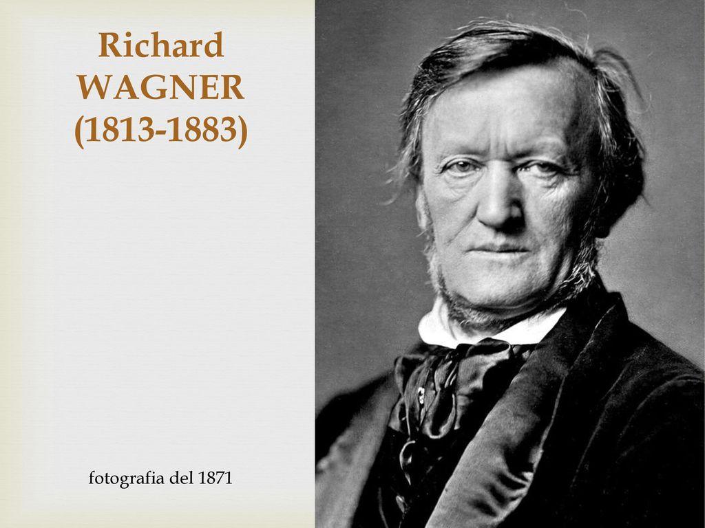 Richard WAGNER (1813-1883) fotografia del 1871