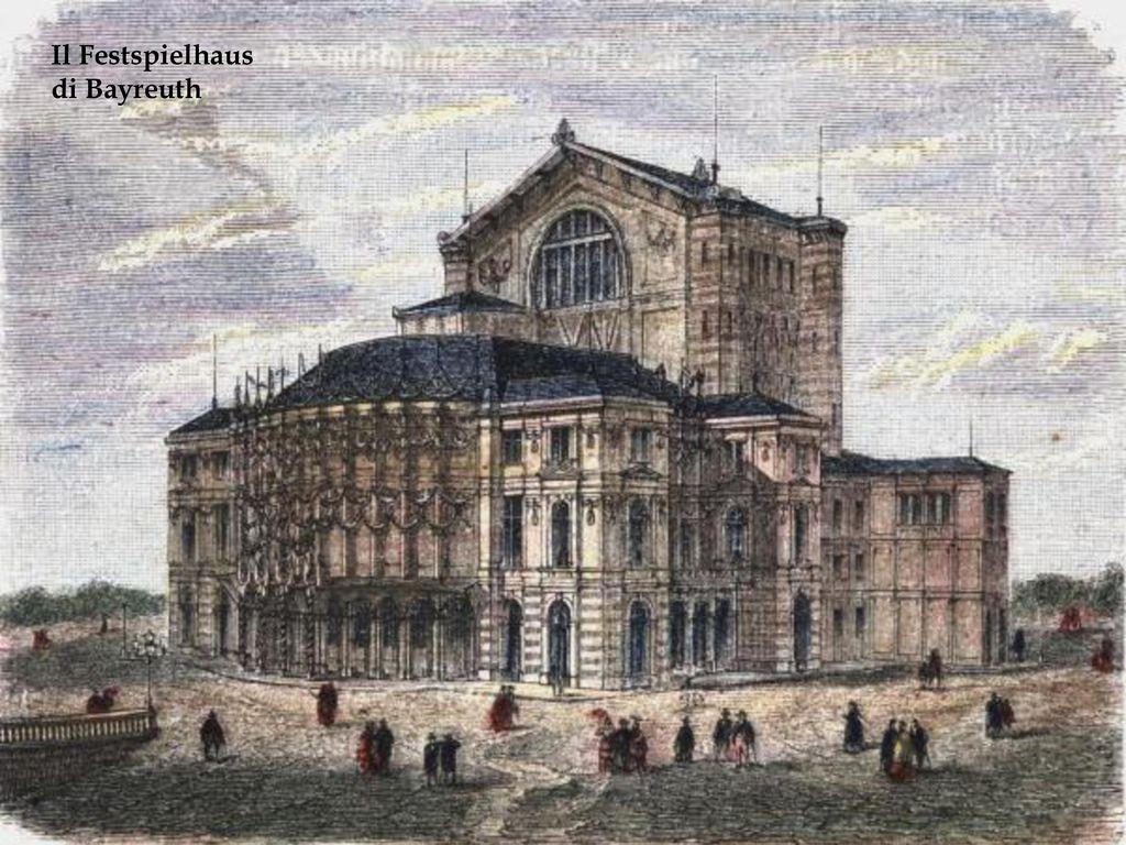 Il Festspielhaus di Bayreuth