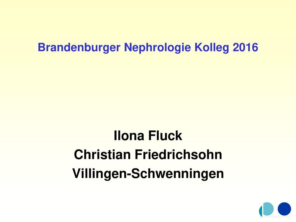 Brandenburger Nephrologie Kolleg 2016