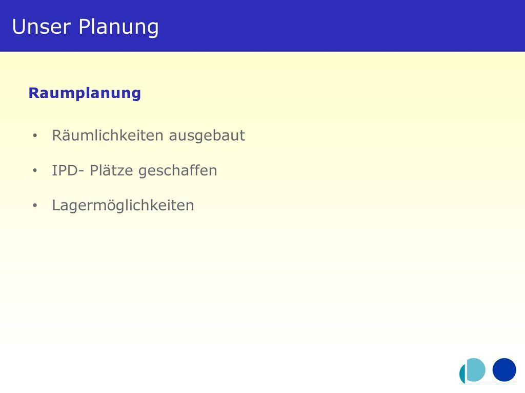 Unser Planung Raumplanung Räumlichkeiten ausgebaut
