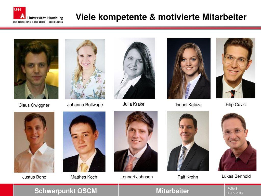 Viele kompetente & motivierte Mitarbeiter