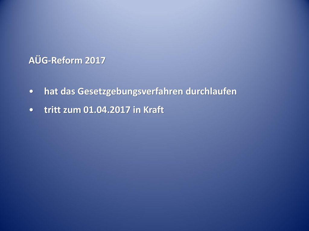 AÜG-Reform 2017 hat das Gesetzgebungsverfahren durchlaufen tritt zum 01.04.2017 in Kraft