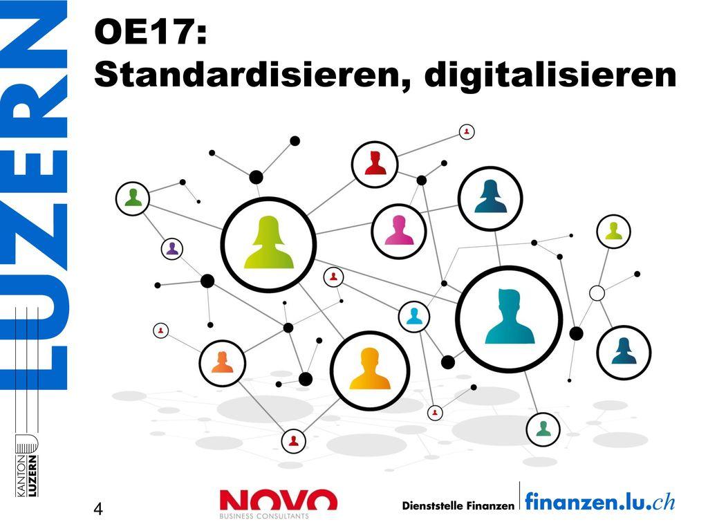 OE17: Standardisieren, digitalisieren